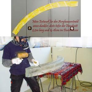 Acrylstrahl
